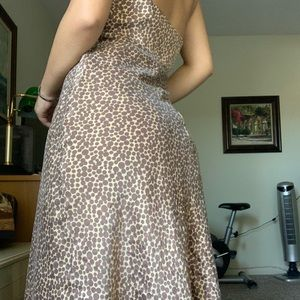 Cheetah Pring Summer Dress